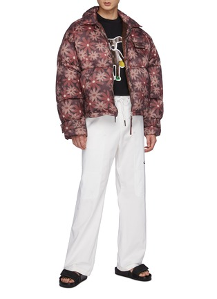 Figure View - Click To Enlarge - JACQUEMUS - Doudoune' Flocon Floral Print Puffer Jacket