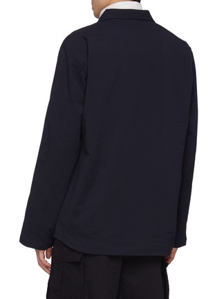 Back View - Click To Enlarge - NANAMICA - Alphadry Shirt Jacket
