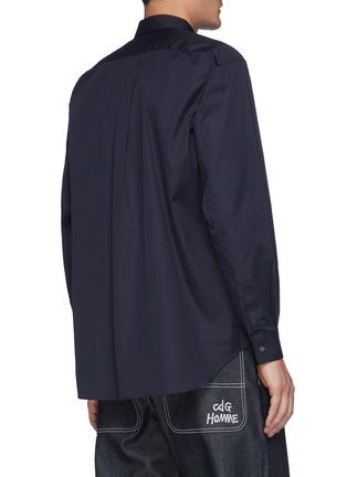 Back View - Click To Enlarge - COMME DES GARÇONS SHIRT - Forever' Wide Classic Plain Shirt