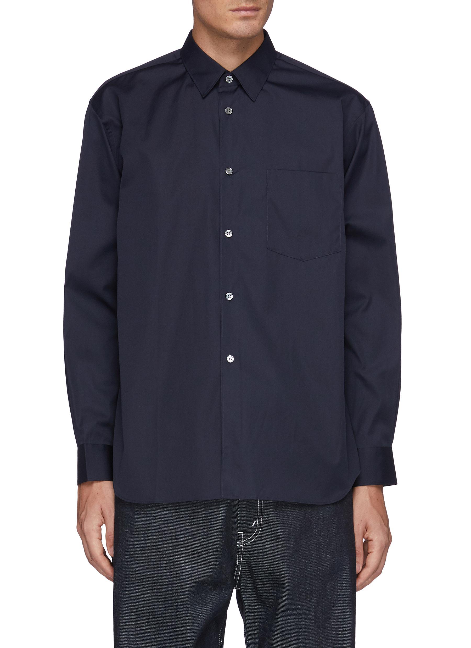 Forever' Wide Classic Plain Shirt