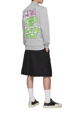 Figure View - Click To Enlarge - COMME DES GARÇONS SHIRT - Comme Des Garçons x Kaws Back Print Track Jacket