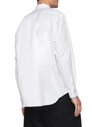 Back View - Click To Enlarge - COMME DES GARÇONS SHIRT - Forever' Wide Classic Plain Oxford Shirt
