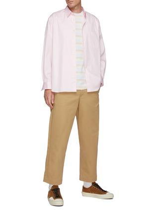 Figure View - Click To Enlarge - COMME DES GARÇONS SHIRT - Forever' Wide Classic Plain Shirt