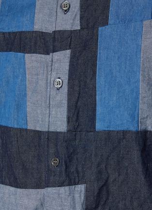 - COMME DES GARÇONS SHIRT - Denim Vertical Panel Shirt