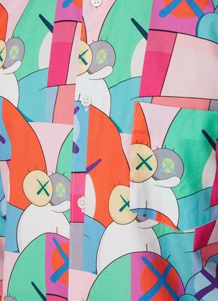 - COMME DES GARÇONS SHIRT - Comme Des Garçons x Kaws All Over Print Shirt