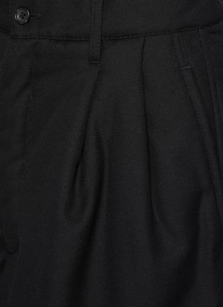 - COMME DES GARÇONS SHIRT - Ply Padding Wool Garbadine Plain Pants