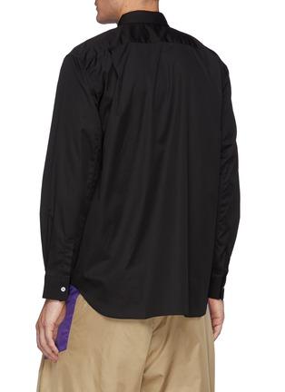 Back View - Click To Enlarge - COMME DES GARÇONS SHIRT - Forever' Narrow Classic Plain Shirt