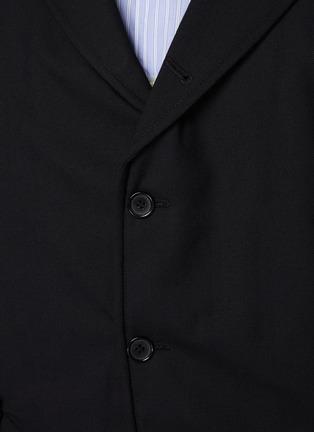 - COMME DES GARÇONS SHIRT - Ply Padding Wool Gabardine Plain Blazer