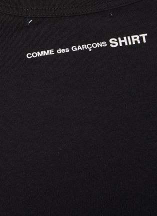 - COMME DES GARÇONS SHIRT - Back Logo Long Sleeve T-Shirt