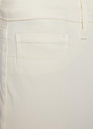 - L'AGENCE - 'Margot' Mid Rise Crop Denim Skinny Jeans