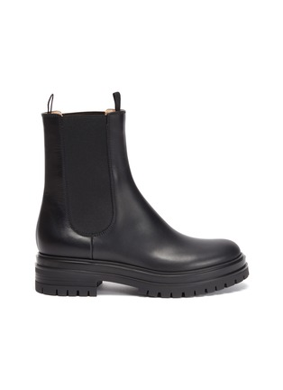 Main View - Click To Enlarge - GIANVITO ROSSI - Chester' leather chelsea boots