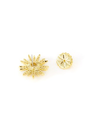 Detail View - Click To Enlarge - CZ BY KENNETH JAY LANE - Cubic Zirconia Symmetrical Stud Earrings