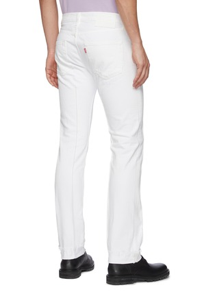 Back View - Click To Enlarge - KARMUEL YOUNG - Distress cuff jeans