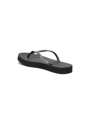 - HAVAIANAS - 'Shine' Sequin Embellished Thong Flatform Sandals