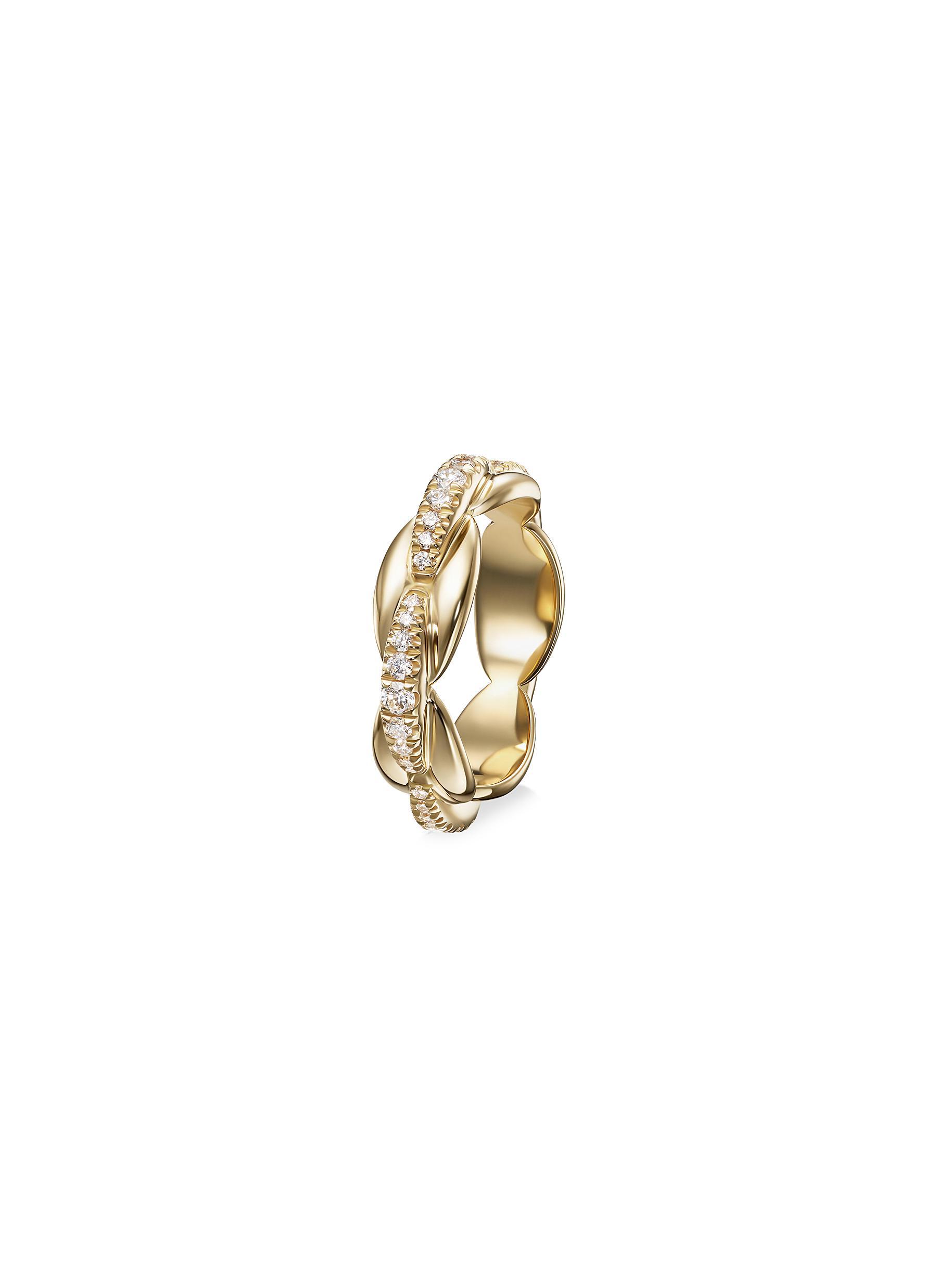 'Ada' Diamond 18k Gold Ring