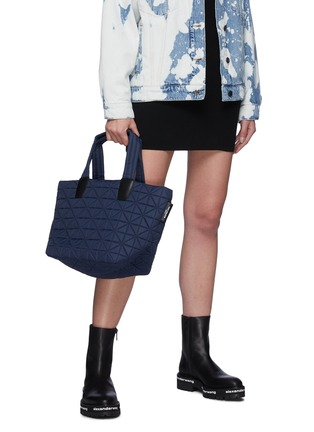 Figure View - Click To Enlarge - VEECOLLECTIVE - Vee Tote' Recycled Nylon Small Tote