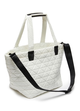 Detail View - Click To Enlarge - VEECOLLECTIVE - 'Vee Tote' top handle medium nylon tote bag