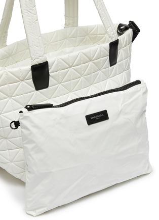 - VEECOLLECTIVE - 'Vee Tote' top handle medium nylon tote bag
