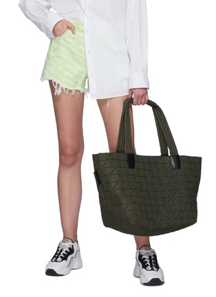 Figure View - Click To Enlarge - VEECOLLECTIVE - Vee Tote' Recycled Nylon Medium Tote