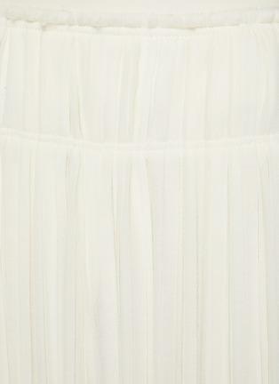 - CHLOÉ - Pleated Wool Midi Skirt