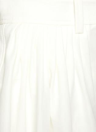 - CHLOÉ - Button front canvas midi skirt