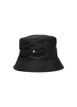 Figure View - Click To Enlarge - ALEXANDER MCQUEEN - Graffiti Logo Embroidered Bucket Hat
