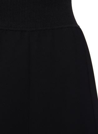 - THEORY - Handkerchief Hem Rib Waistband Midi skirt