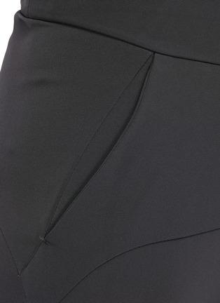 - ATTACHMENT - Slim Fit Drawstring Double Face Biker Easy Pants