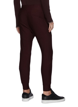 Back View - Click To Enlarge - ATTACHMENT - Drawstring Track Jogger Pants