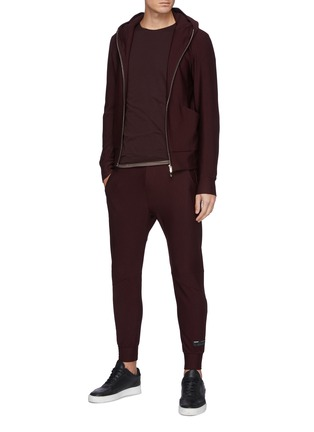 Figure View - Click To Enlarge - ATTACHMENT - Drawstring Track Jogger Pants