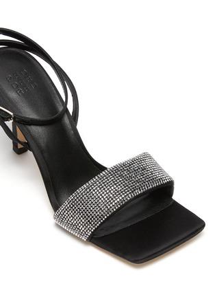 Detail View - Click To Enlarge - PEDDER RED -  ''Ella' strass embellished band sandal