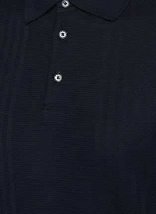 - THEORY - Coleson' Striped Cotton Polo Shirt