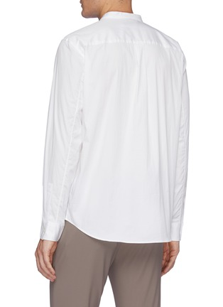 Back View - Click To Enlarge - THEORY - 'Noll' mandarin collar shirt