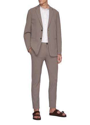 Figure View - Click To Enlarge - THEORY - 'Noll' mandarin collar shirt