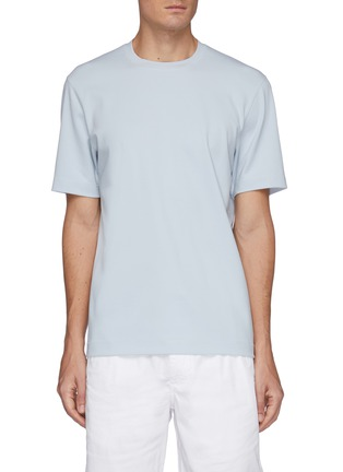 Main View - Click To Enlarge - THEORY - 'Ryder' jersey T-shirt