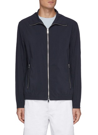 Main View - Click To Enlarge - THEORY - 'Marco' zip up jacket
