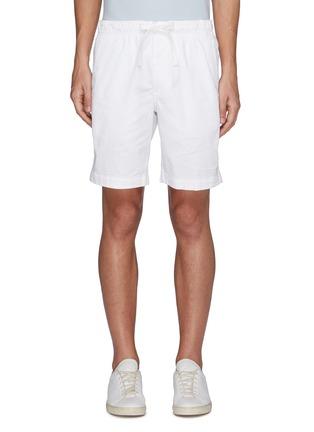 Main View - Click To Enlarge - THEORY - 'Norton' drawstring waist shorts