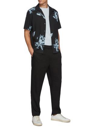 Figure View - Click To Enlarge - THEORY - Noll' Floral Print Hawaiian Shirt
