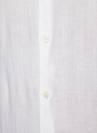 - THEORY - 'Irving' linen shirt