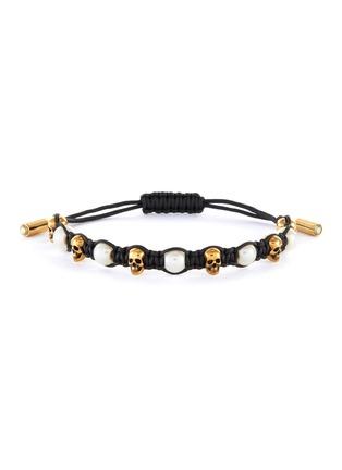 Main View - Click To Enlarge - ALEXANDER MCQUEEN - Swarovski glass pearls friendship bracelet
