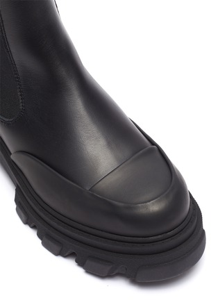 Detail View - Click To Enlarge - GANNI - Chelsea Leather Boots