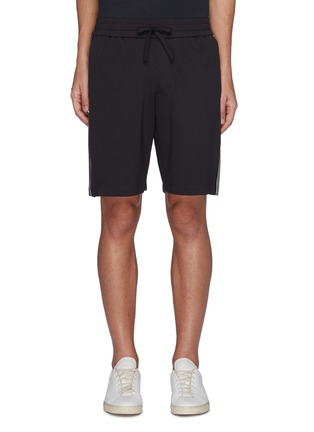 Main View - Click To Enlarge - THEORY - Side Stripe Drawstring Waist Track Shorts