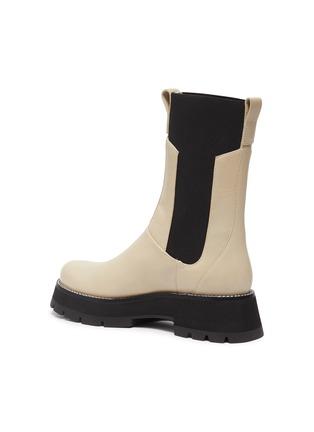 - 3.1 PHILLIP LIM - 'Kate' Elastic Panel Lug Sole Leather Chelsea Boots