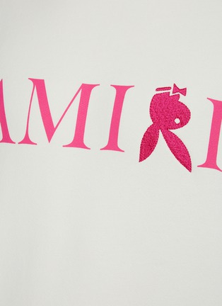 - AMIRI - Reversed Bunny Embroidery Logo Cotton Sweatshirt