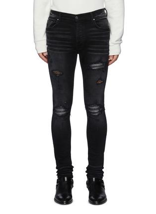 Main View - Click To Enlarge - AMIRI - MX1 Iridecent Jeans
