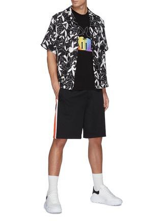 Figure View - Click To Enlarge - AMIRI - Playboy Rainbow Logo Print T-shirt