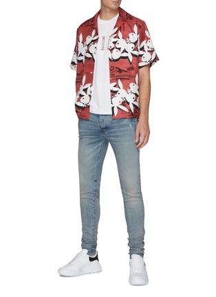 Figure View - Click To Enlarge - AMIRI - Playboy Bunny silk Hawaiian Shirt
