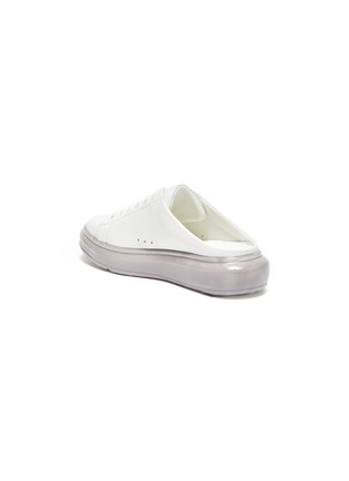 - PEDDER RED -  ''Mercy' Translucent Platform Sole Slip-on Sneakers