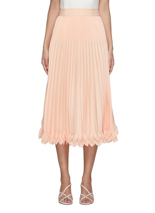 Main View - Click To Enlarge - 3.1 PHILLIP LIM - 3-Tier Pleated Midi Skirt