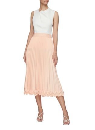 Figure View - Click To Enlarge - 3.1 PHILLIP LIM - 3-Tier Pleated Midi Skirt